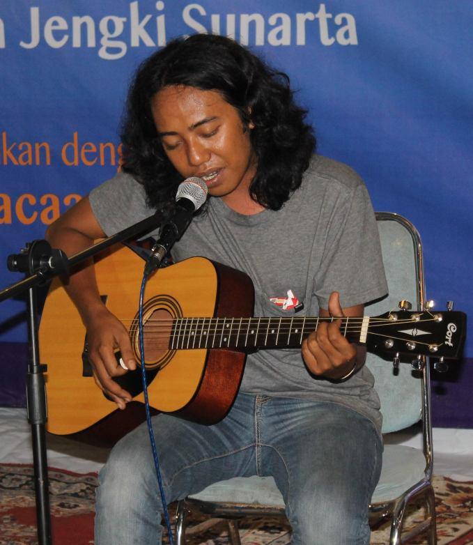 Hery Anggara, musikalisasi puisi