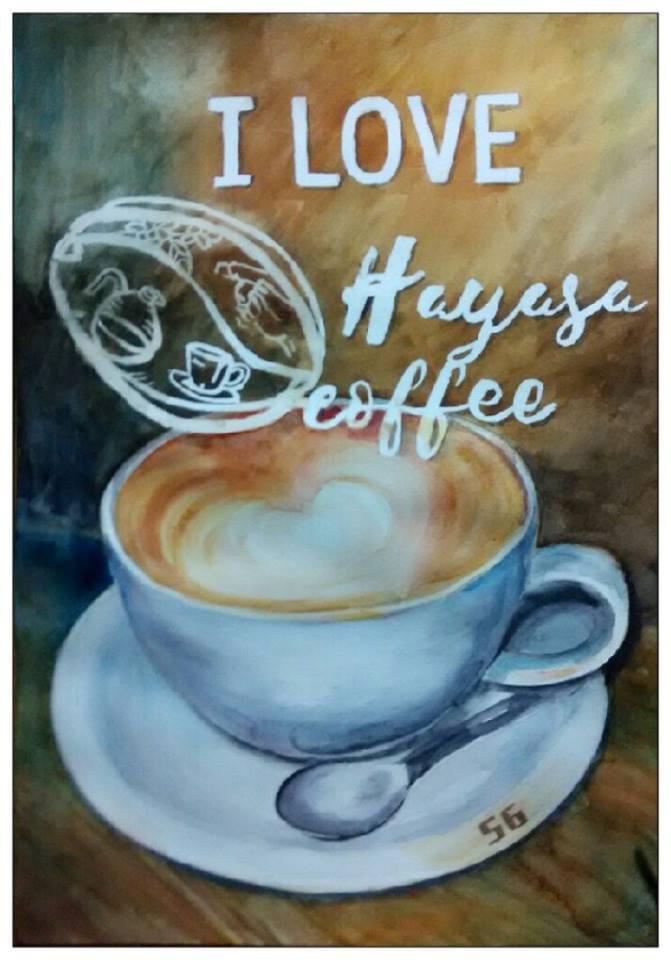 I love Hayasa Cafe